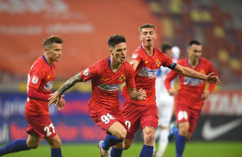 FCSB este prima în Liga 1 după 15 etape