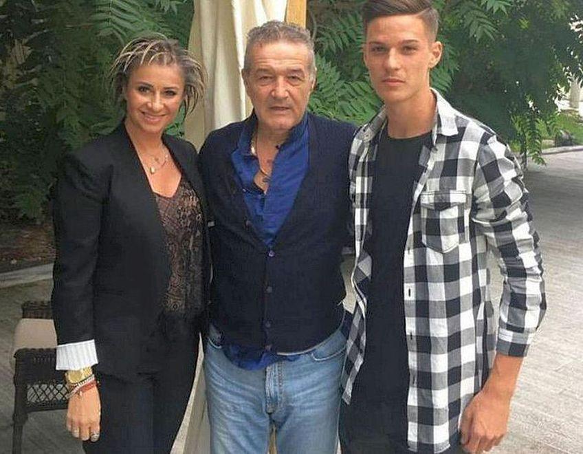 Anamaria Prodan, Gigi Becali și Dennis Man