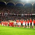 Imagine de la Dinamo - FCSB 0-2, unicul derby condus de Colțescu