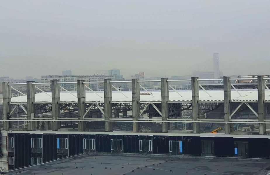 Arena Rapid, ultima dintre cele 3 promise în cadrul proiectului pentru Euro 2020, se apropie cu pași grăbiți spre finalizare.