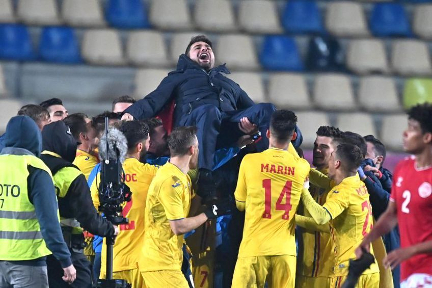 România U21 s-a calificat la turneul final după 1-1 cu Danemarca