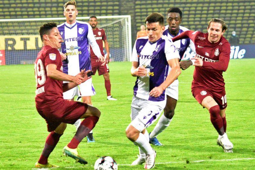 CFR Cluj a învins-o pe FC Argeș cu 5-0 / Sursă foto: Facebook Fotbal Club Argeș Pitești