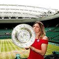 Simona Halep a câștigat Wimbledon 2019 // FOTO: Guliver/GettyImages