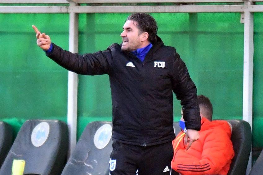 Ovidiu Stîngă a rezistat doar trei partide pe banca lui FC U Craiova. FOTO: Raed Krishan