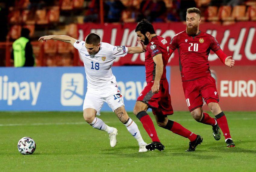 Eșecul de la Erevan, Armenia - România 3-2, are cu greu un corespondent