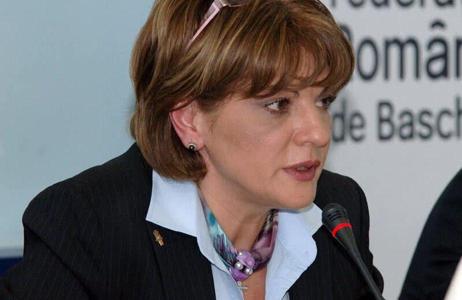 Carmen Tocală, vicepreședinta Asociației Europene de Baschet