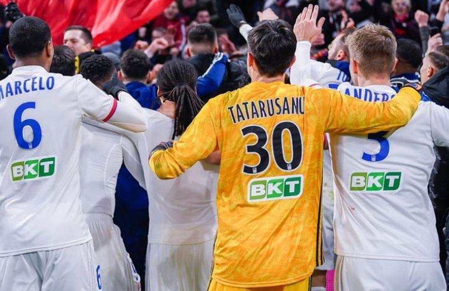 Președintele echipei lui Ciprian Tătărușanu vrea despăgubiri de zeci de milioane. Sursă foto: Twitter Olympique Lyon