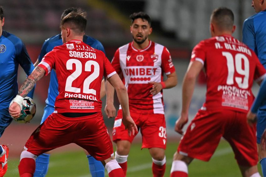 Dinamo a bifat prima victorie după trei luni de eșec total, 2-0 cu FC Voluntari