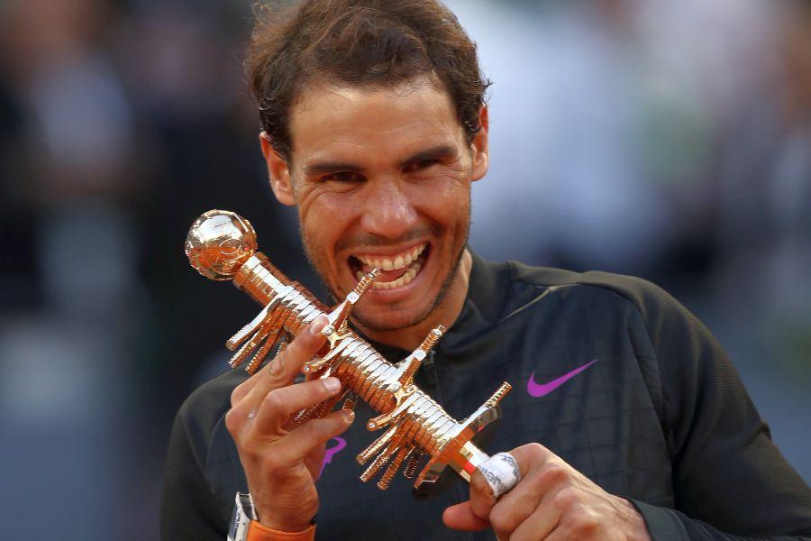 Rafael Nadal a câștigat de cinci ori trofeul la Madrid