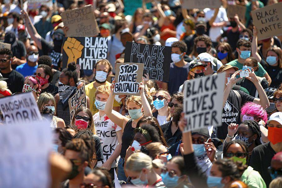 Proteste George Flyod