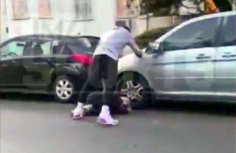 Momentul în care J.R. Smith se răzbună pe bărbatul care i-a stricat mașina