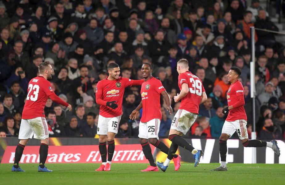 Odion Ighalo (centru) a impresionat în cele 8 apariții pentru Manchester United // sursă foto: Guliver/gettyimages