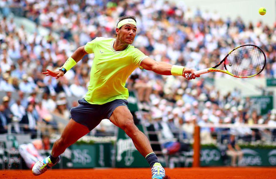 Rafael Nadal are 12 titluri pe atât de îndrăgita zgură pariziană. foto: Guliver/Getty Images