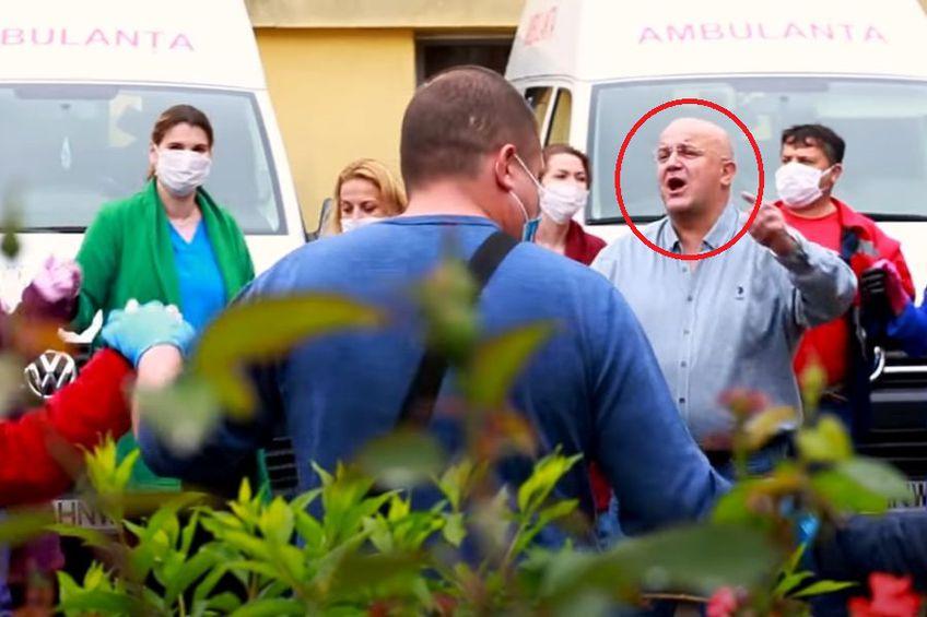 """Cadre medicale și directoarea unui centru din București apar în clipul lui """"Axinte"""" din """"Vacanța Mare"""""""