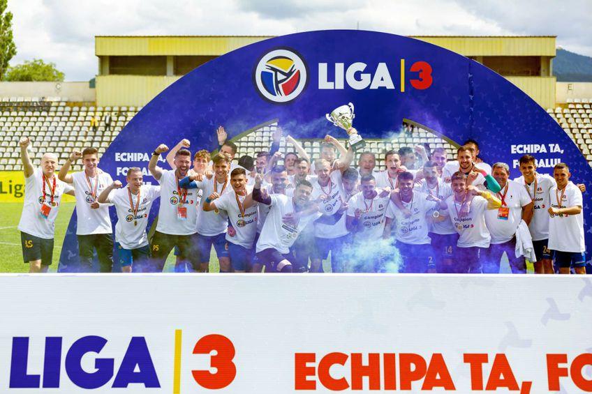 Corona Brașov a promovat în Liga 2