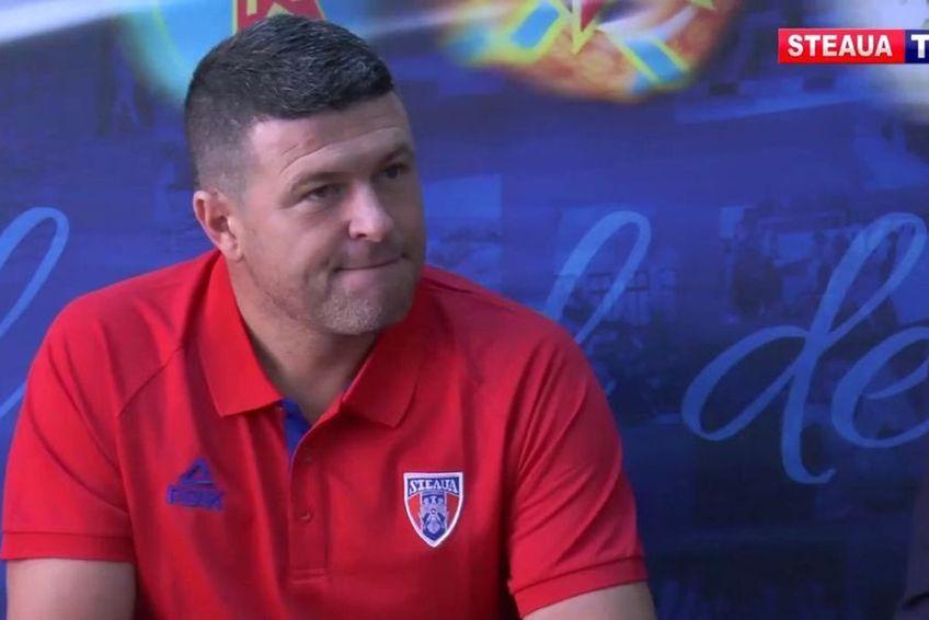 """CSA Steaua a promovat în Liga 2, dar Daniel Oprița (39 de ani), antrenorul """"militarilor"""", nu e sigur că va continua în Ghencea."""