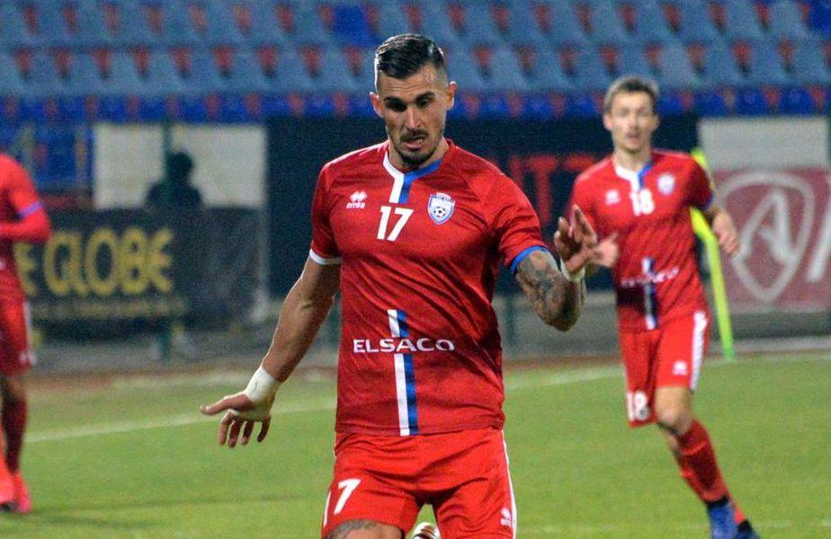 Marko Dugandzic are un gol marcat la 85 de minute în Liga 1