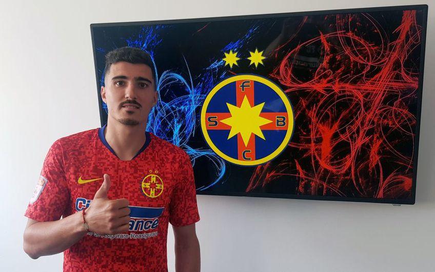 Marius Briceag este noul fotbalist al lui FCSB // Sursă foto: Facebook