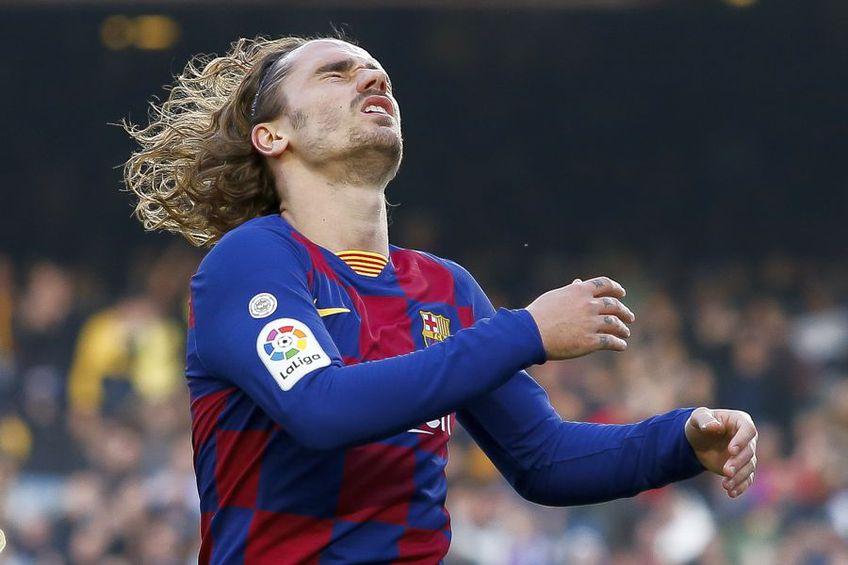Antoine Griezmann a început ca rezervă meciul Barcelona - Atletico, 2-2