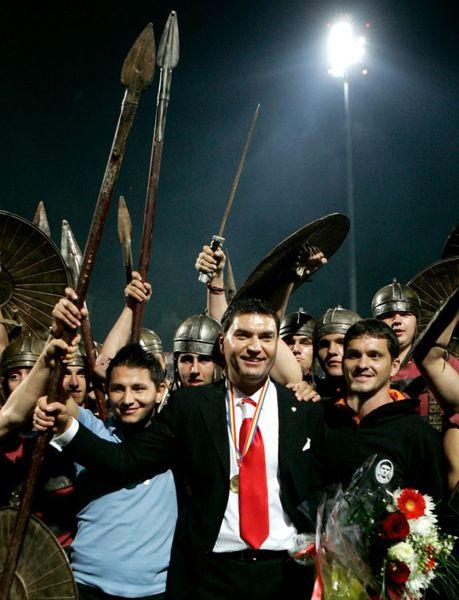 FOTO Cristi Borcea acționar Dinamo 2007-2014