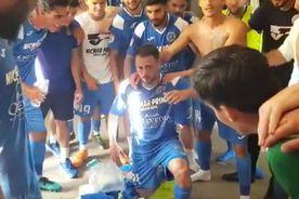 """ACADEMICA CLINCENI - SEPSI 1-0 // VIDEO Euforie în vestiarul gazdelor, după a patra victorie consecutivă: """"Clinceniul campioni"""""""
