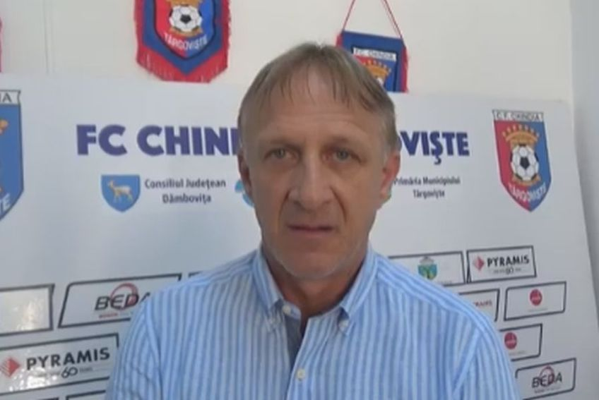 Emil Săndoi, antrenor Chindia Târgoviște // foto: Facebook @ AFC Chindia Oficial