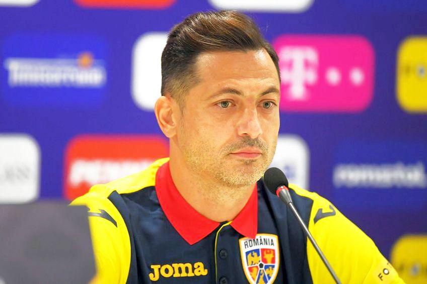 Mirel Rădoi, selecționerul echipei naționale a României