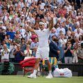 Roger Federer (39 de ani, 8 ATP) l-a învins pe Richard Gasquet (35 de ani, 56 ATP), scor 7-6(1), 6-1, 6-4 și s-a calificat în turul 3 la Wimbledon 2021.