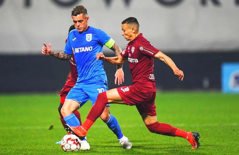 CS Universitatea Craiova și CFR Cluj sunt programate să joace luni, de la 21:00, meciul care va decide titlul în Liga 1