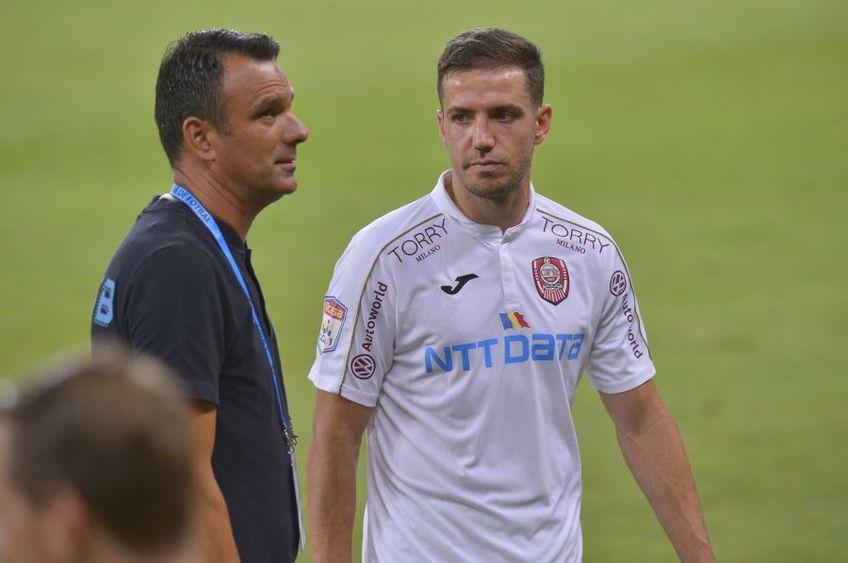 """Cu Dan Petrescu aflat departe de echipă, """"secundul"""" Valeriu Bordeanu (43 de ani) a preluat frâiele campioanei României"""