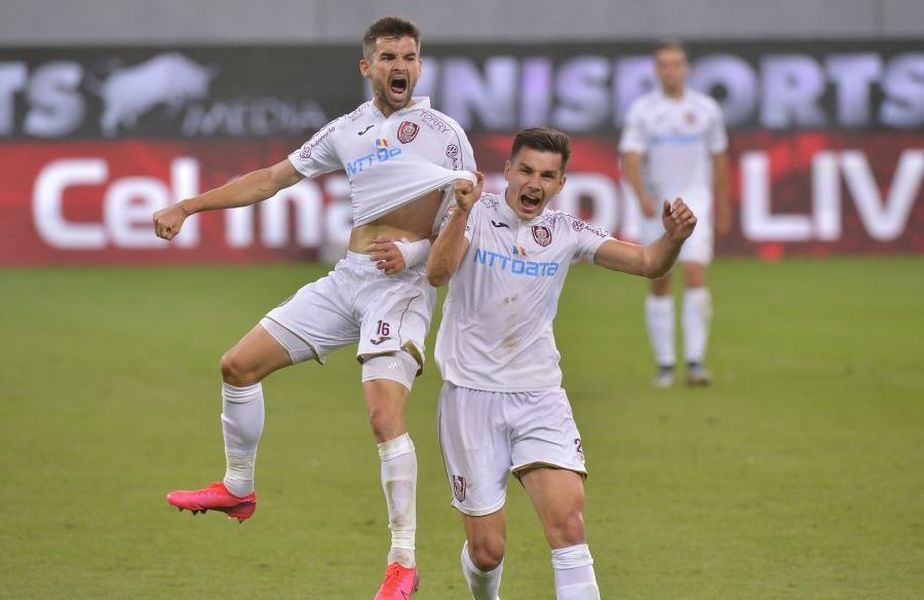 Craiova - CFR Cluj va fi meciul decisiv în privința titlului din Liga 1