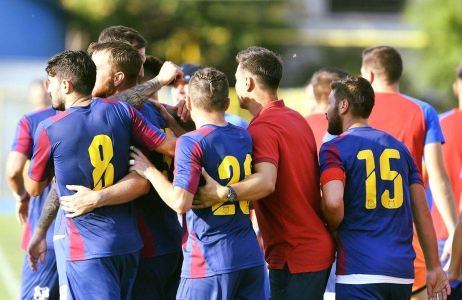 CSA Steaua a câștigat, scor 6-1, în fața Argeșului Mihăilești