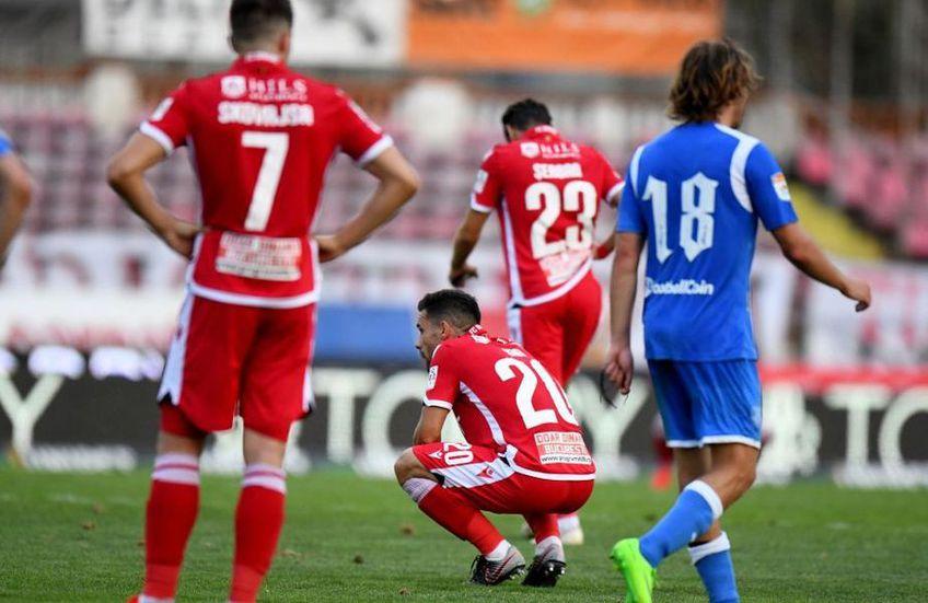 Dinamo ocupă locul 7 în play-off