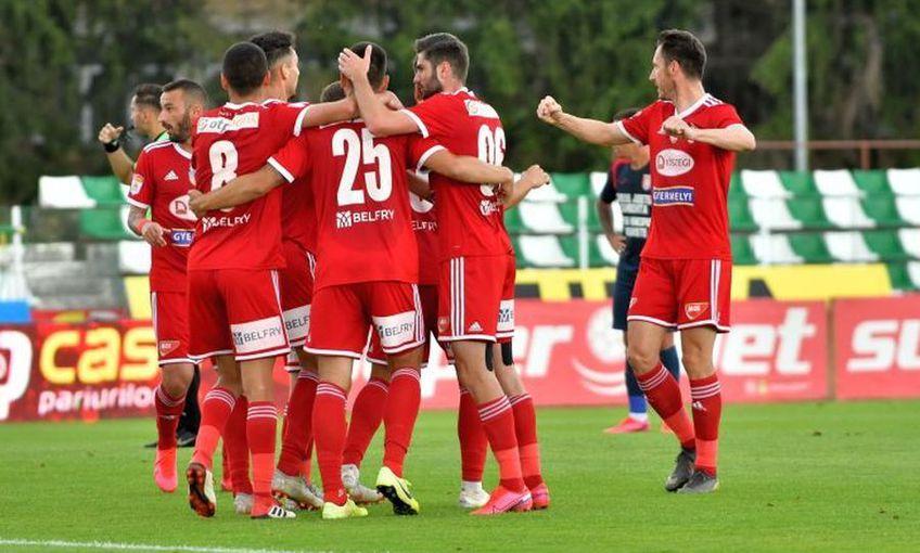 Sepsi a învins-o pe Viitorul, la Ovidiu, scor 3-0, în runda cu numărul 13 din play-out-ul Ligii 1