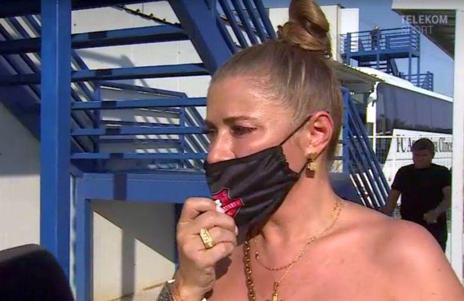 Anamaria Prodan // Captură TV Telekom Sport