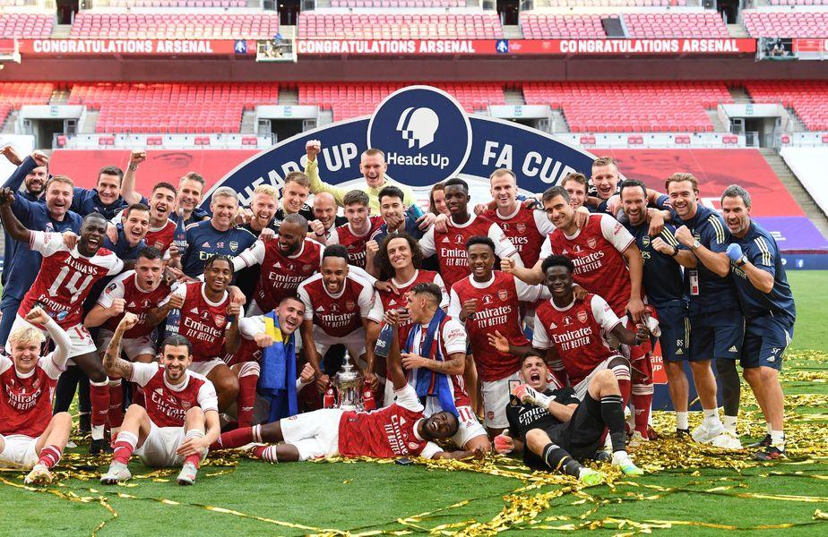 Arsenal e câștigătoarea Cupei Angliei