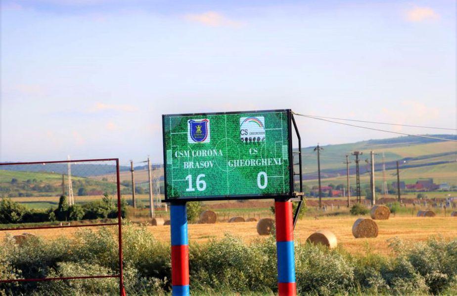 CSM Corona Brașov a câștigat cu 16-0 împotriva echipei CS Gheorgheni // foto: Facebook @ CSM Corona Brasov