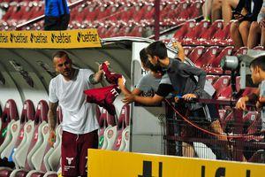 Gest superb făcut de Alibec după primul gol marcat pentru CFR Cluj
