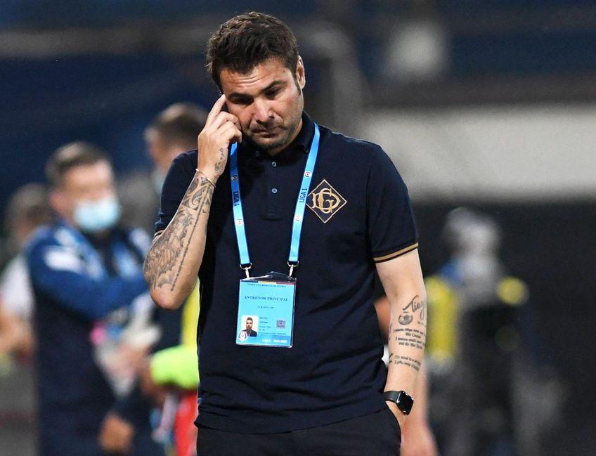Mutu este îngrijorat în perspectiva meciului pe care FCU Craiova îl va disputa etapa viitoare, cu Academica Clinceni, foto: Imago