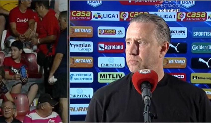 """FC Botoșani a câștigat pe """"Ion Oblemenco"""", 2-1 cu CSU Craiova, și a urcat pe locul 3 în Liga 1. Laurențiu Reghecampf (45 de ani) și-a certat elevii imediat după meci și anunță noi transferuri."""