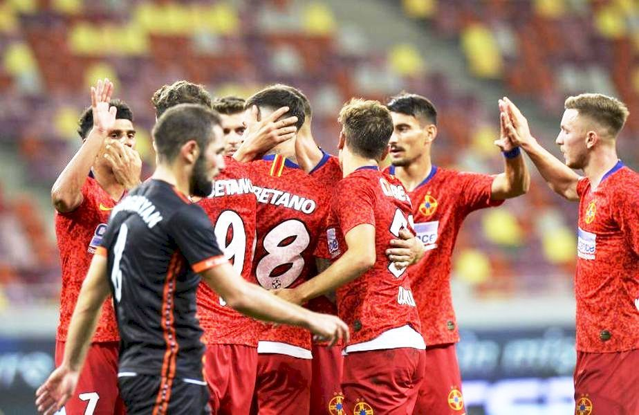 Dacă trece de sârbii de Backa Topola, FCSB va juca în turul 3 preliminar din Europa League cu Riteriai (Lituania) sau Slovan Liberec (Cehia).