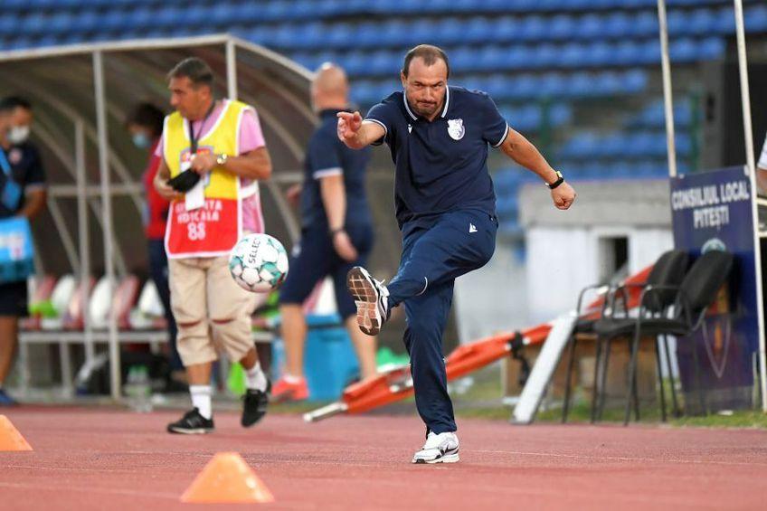 Ionuț Badea are o misiune complicată la FC Argeș. foto: Raed Krishan