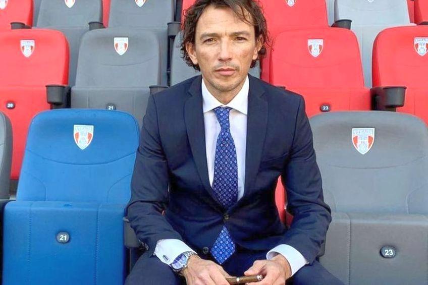 George Ogăraru e pus la zid de antrenorul Rodrigo Mușat / Sursă foto: Facebook