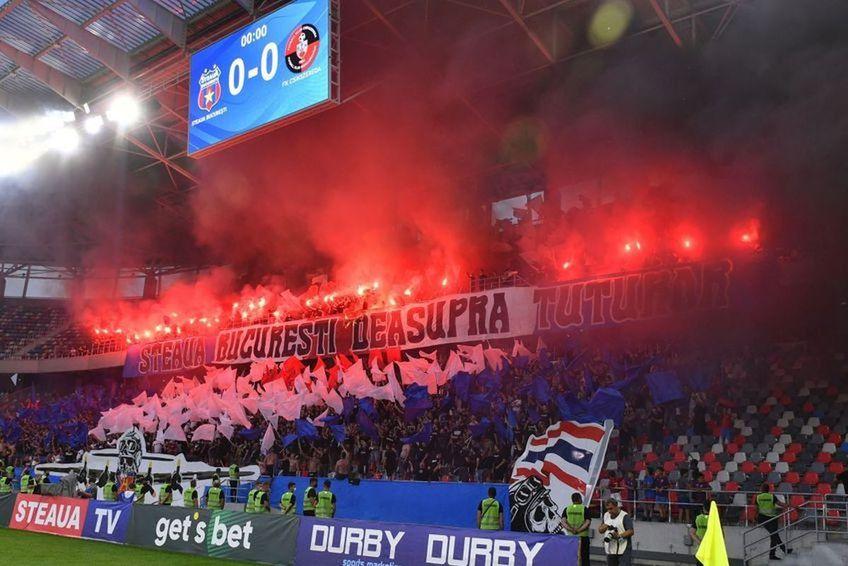Peluza Sud Steaua Foto: GSP
