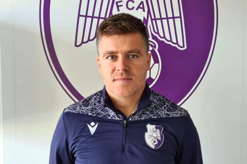Adrian Dulcea. Sursă foto: Facebook FC Argeș