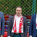 Alex Couto (dreapta), alături de Dorin Șerdean și Pablo Cortacero, acționar majoritar Dinamo
