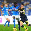 Dennis Man, în Napoli - Parma 2-0 // foto: Guliver/gettyimages