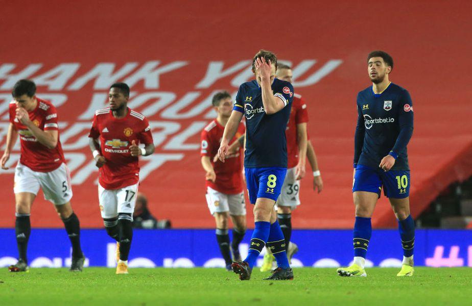 Manchester United a reușit scorul sezonului în Premier League, 9-0 în fața lui Southampton.