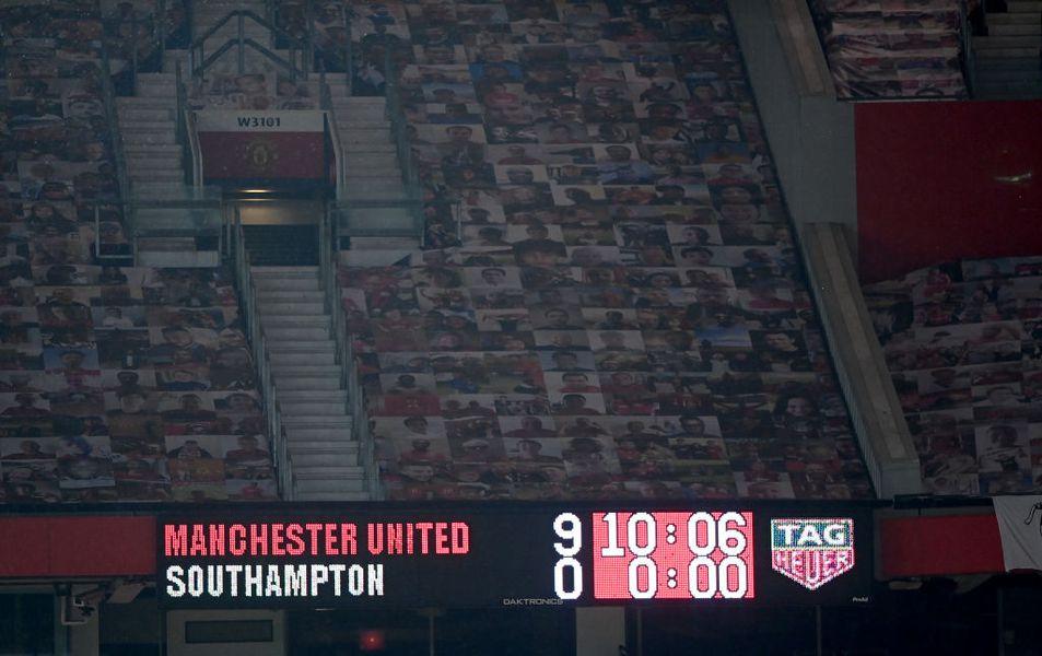 Manchester United - Southampton 9-0