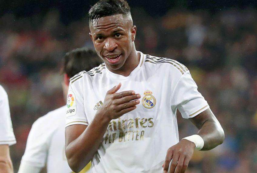Vinicius a marcat primul său gol în El Clasico // FOTO: Guliver/GettyImages